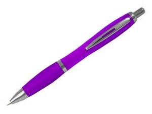 Curvy ball pens promotional plastic pens click promo gifts
