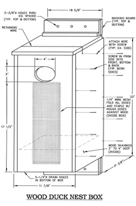 wood duck house plans plans for a wood duck house house design ideas