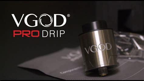 Vapor Vgod Promech Free Baterailiqua introducing the new vgod pro drip rda