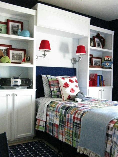 home dzine bedrooms storage ideas   headboard