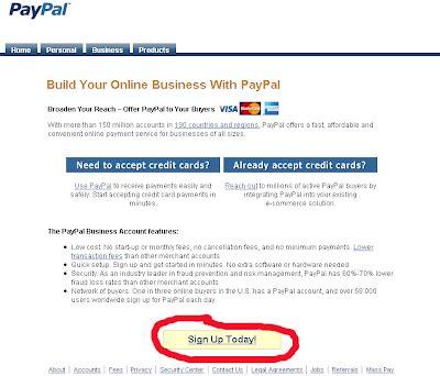 tutorial hack rekening bank cara mendaftar paypal dan menghubungkannya dengan rekening