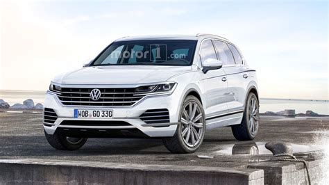 interni touareg vw touareg rendering motor1 photos