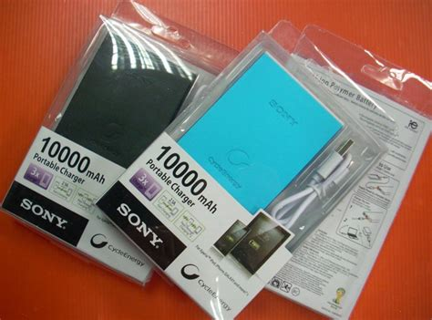 Power Bank Sony mobiles tablets mobile tablet accessories power bank sony 10000mah power bank cp