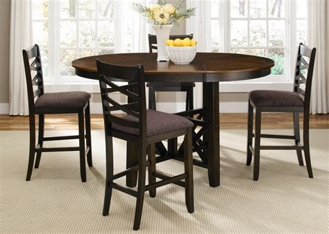 bistro ii extendable gathering table set from liberty 74