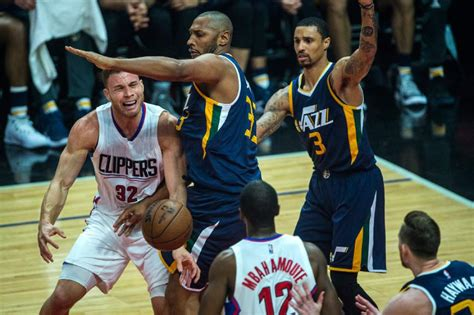 by blake griffin the standoff the players tribune utah jazz clippers dominate the post beat jazz to tie