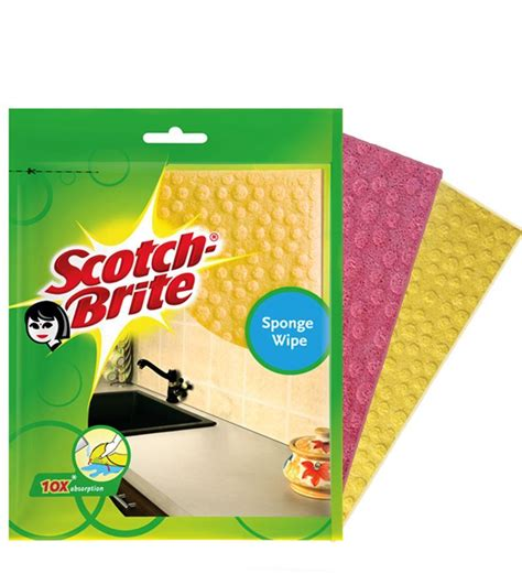 Online Kitchen Furniture by Scotch Brite Sponge Wipe 9pcs 3s X 3 By Scotch Brite