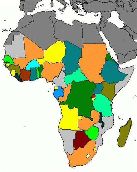africa countries map quiz map of africa quiz