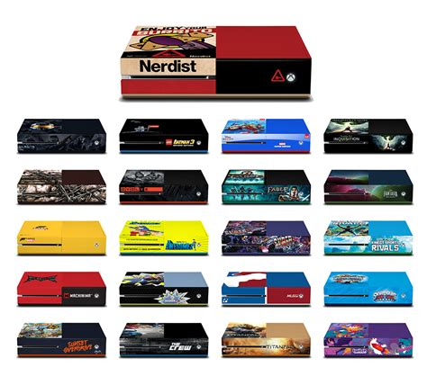 Edition Of One by Win A Limited Edition Nerdist Xbox One And More At Comic