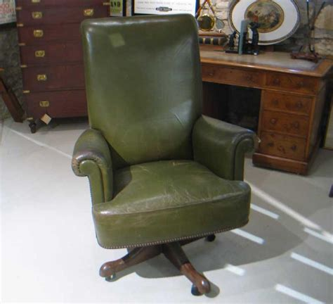 Green Leather Office Chair by Green Leather Office Chair Cryomats Org