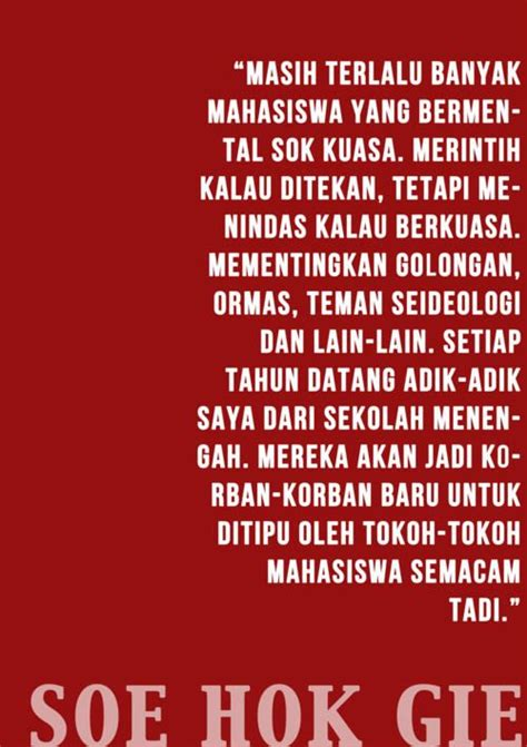 Soe Hok Gie Quotes soe hok gie quotes purpose islamic