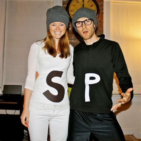 black and white photo creative costumes for salt and pepper s day costume creative ads and more