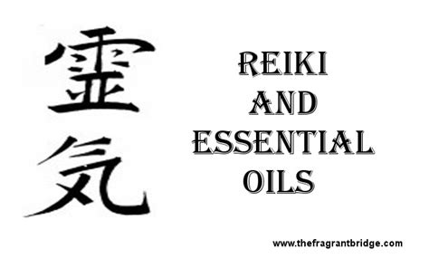 reiki  essential oils