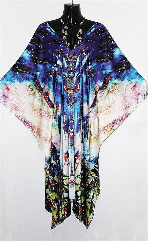 Kaftan Molly Brukat Dress Silk Gamis Maxi stretch silk koi fish kaftan by molly kaftans colors