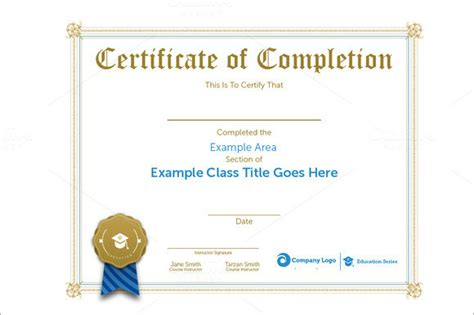 professional certificate templates professional certificate of appreciation