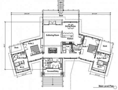 Dual Master Suite Home Plans by 2 Bedroom House Plans With 2 Master Suites For House