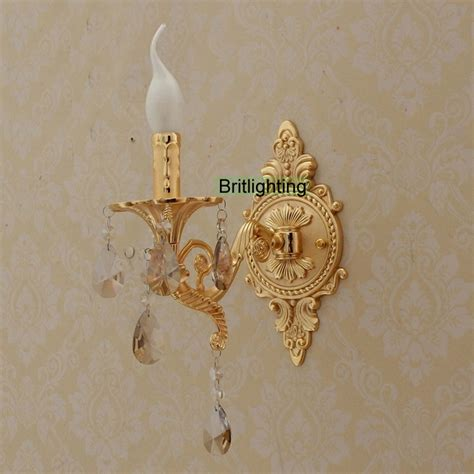 Cool Bathroom Sconces Bedside Led Wall Lights Vanity Light Luxury Gold Wall L
