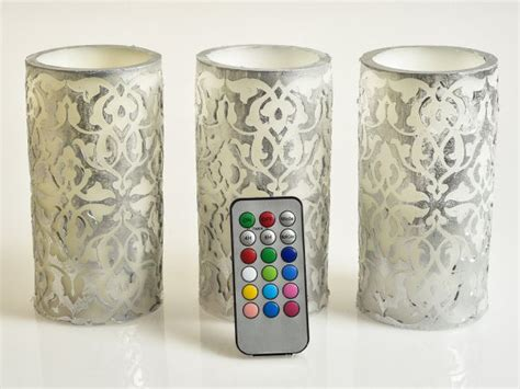 decorative electric candles set candle decorating ideas for special occasions
