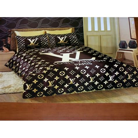 louis vuitton bedding sheets set new in luxury box