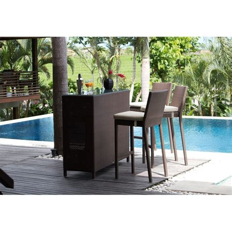 Outdoor Patio Furniture Bar Sets Outdoor Bar Furniture Sets To House Your Wine Home Outdoor
