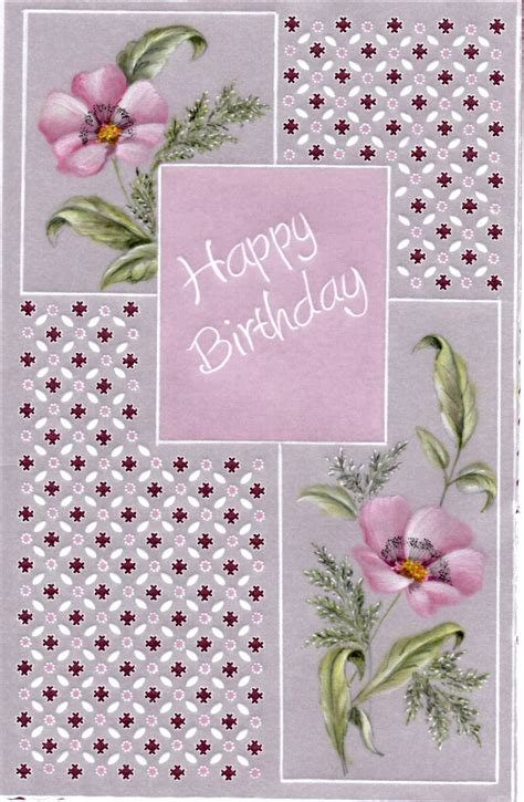 Dorothy Holness Happy  Ee  Birthday Ee   Dhproject A Card