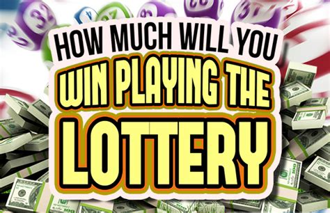 How Much Money Do You Win On Pick 3 - how much will you win playing the lottery brainfall com