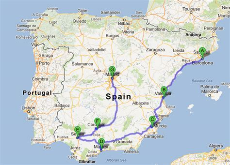 Map Of Southern Spain by Map Of Southern Spain Related Keywords Amp Suggestions Map