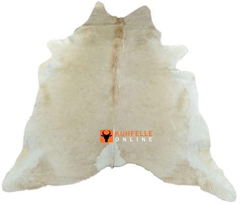 kuhfell teppich kuhfell teppich stierfell creme beige 220 x 190 cm