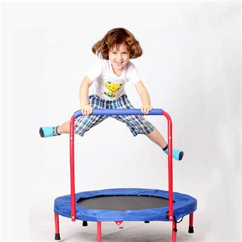 Trampoline Bed Handheld 36x36 Inch Kids Round Trampoline Children Funny