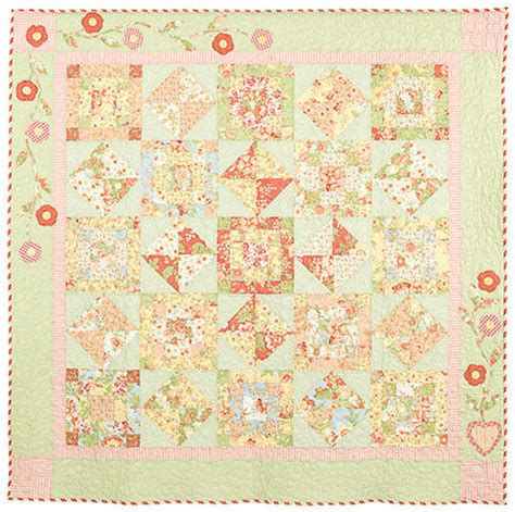 Bunny Hill Quilt Patterns by Garden Quilt Pattern By Bunny Hill Designs Sutton