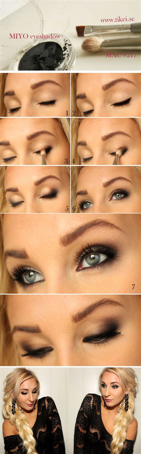 www tutorial best smokey eye makeup tutorial step by step ideas with