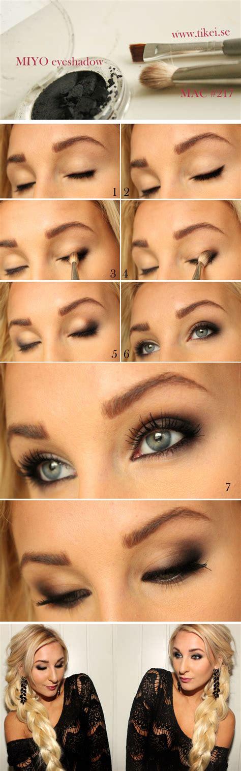 tutorial makeup smokey eyes best smokey eye makeup tutorial step by step ideas with