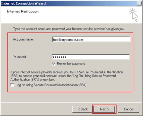 How To Search Email Id In How To Setup Outlook Express To Check Your Email Support