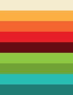 60s colors 70s colors color inspiration retro 1970s