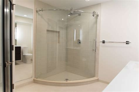 Glass Shower Doors Rochester Ny Open Glass Inspired Bathroom Remodel In Rochester Ny Concept Ii