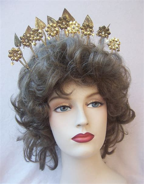 Wedding Hair Accessories Indonesia by Vintage Tiara Crown Headpiece Wedding Headdress