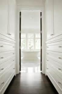 Combined Bath And Shower Units walk through closet transitional closet pld custom homes
