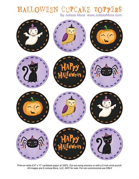 printable halloween stencils for cupcakes 41 best free printable cupcakes toppers images on