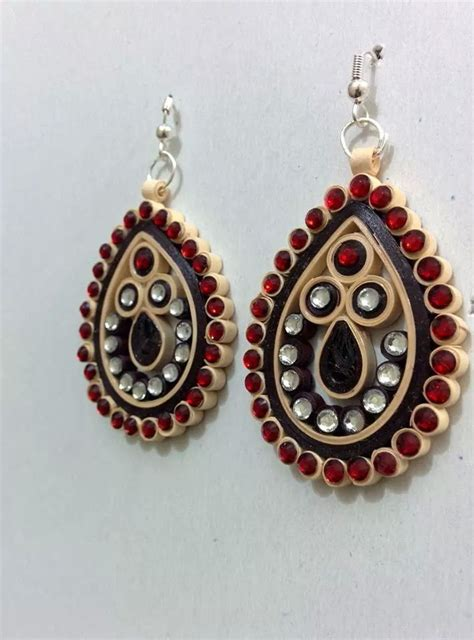 pattern for paper jewelry 1884 best paper jewellery images on pinterest earrings