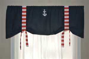 nautical window valance window valance nautical valance tie up valance white