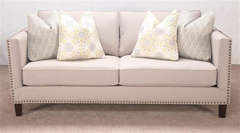 couch with nailhead trim best nailhead trim sofa loccie better homes gardens ideas