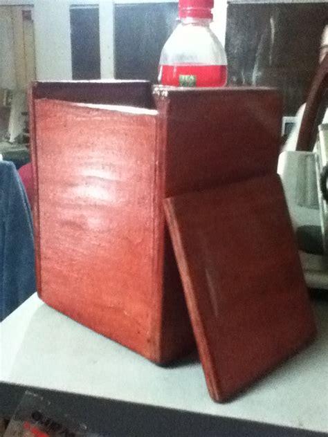 diy mtg wooden deckbox  steps instructables