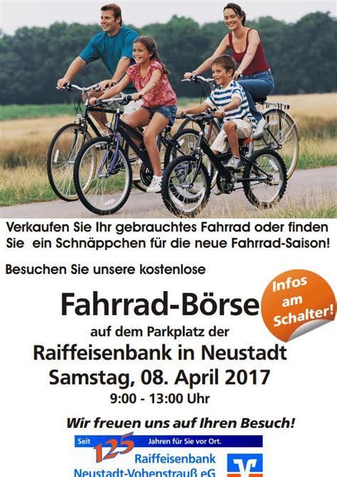 wann bucht die raiffeisenbank kostenlose fahrrad b 246 rse raiffeisenbank neustadt wn