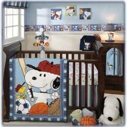 Sports Theme Crib Bedding Snoopy Sports Baby Crib Bedding Baby Bedding