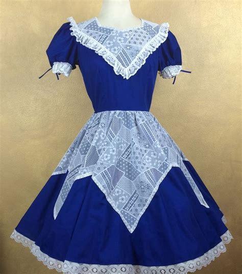 Cc Dress Lace Square partners blue w white lace square dress