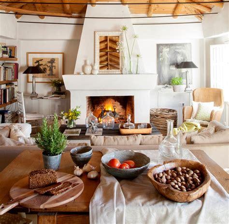 arredamento soggiorno rustico 1001 idee per un camino rustico comfort e accoglienza