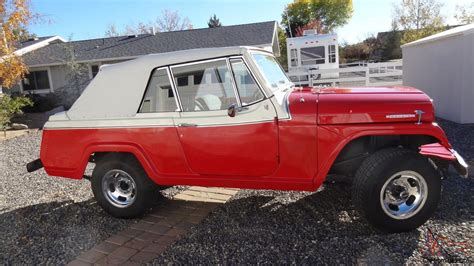willys jeepster commando jeep commando jeepster convertible