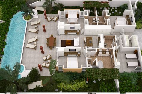 4 bedroom house plans 3d official crane beach blog the crane