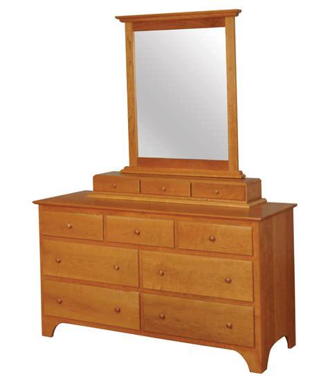 Amish Dresser by Shaker Dresser Amish Furniture Designed