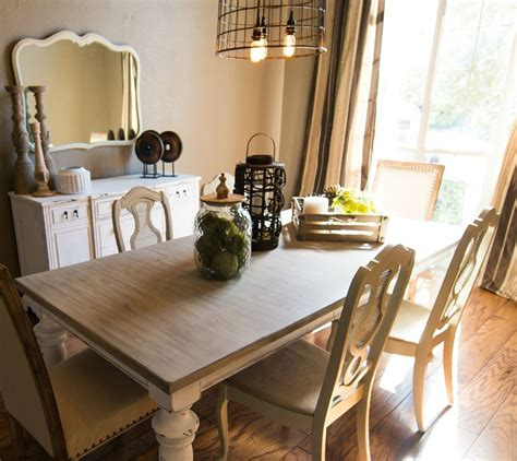 Painted Dining Room Furniture Ideas Hometalk Updated Dining Room Before And After