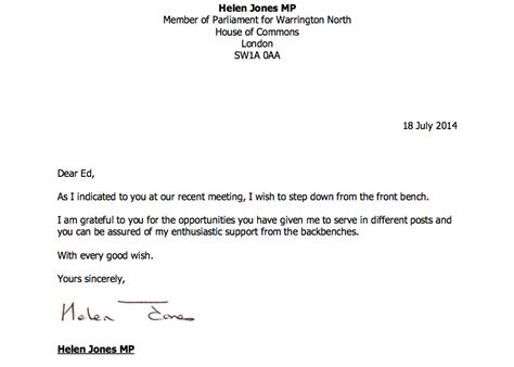 stepping from a position letter template shadow home office minister steps labourlist